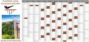 calendrier saut elastique
